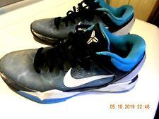 a88a273408aa Nike Zoom KOBE VII 7 Shark Obsidian Blue White Grey 488371-401 Mens SIZE