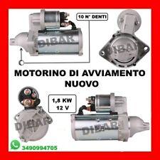 MOTORINO DI AVVIAMENTO OPEL ASTRA J 1.7 CDTI 81KW DAL 2009 A17DTC 0986019361
