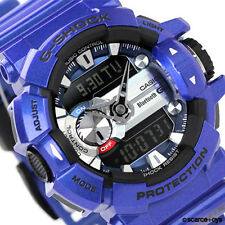 CASIO G-SHOCK G'MIX Bluetooth Blue / Purple Watch GShock GBA-400-2A