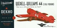 Wedell Williams 44 (1931 version) - DEKNO models - 1/72 - resin kit