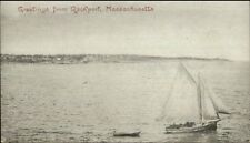 Rockport Ma Early 1905 View Postcard #3