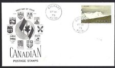 Canada  # 727   KLUANE NATIONAL PARK SPECIAL CACHET COVER   Used 1979 Addressed