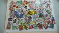 2173         lot 100 timbres seconds plusieurs pays