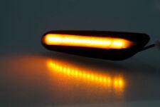 LED Seitenblinker für BMW 1er E81 E82 E87 E88 - schwarz smoke Blinker für BMW