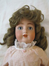 "Antique German ABG 1352 Bisque Head Doll with Jointed Body ~ 24"" Tall"