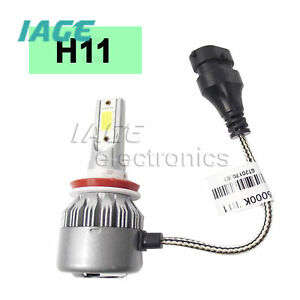 2x138000LM CREE COB H11 LED Auto Scheinwerfer Kit Glühlampen 6000K H8 H9 72W AHS