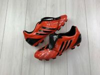 RARE ADIDAS PREDATOR 2008 MEN'S FG FOOTBALL BOOTS SOCCER RED SIZE 11/46