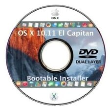 Mac OS X 10.11 El Capitan Bootable DVD DL