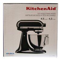 KitchenAid 4.5-Quart 10-Speed Tilt-Head Stand Mixer - Onyx Black