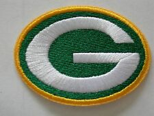 """GREEN BAY PACKERS IRON ON PATCHES**U*S*A** Free s&h 100% Embro. 2 1/4"""" x 1 5/8"""""""