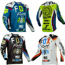 Mens Fox Cycling Jersey Motocross/MX/ATV/BMX/MTB 180 Racing Tops Bike apparel