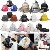 Women's PU Leather Travel Shoulder Backpack Girl School Fashion Rucksack Bag Lot