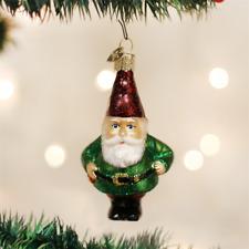 OLD WORLD CHRISTMAS GNOME MYTHICAL GLASS CHRISTMAS ORNAMENT 24133