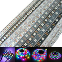 5V WS2812B Addressable 5050 RGB LED Strip 150 300 Pixel Light 30 60 144 Led/M