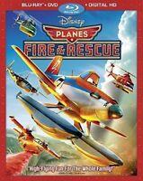 Planes: Fire & Rescue [2014, 2-Disc Set] Blu-Ray + DVD + Digital HD + Bonus