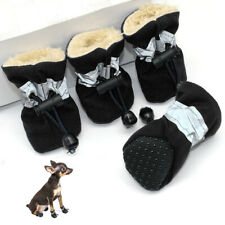 Dog Boots Paw Protector Waterproof Reflective Anti-Slip Dog Shoes Soft-Soled