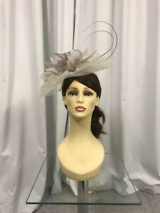 Snoxell & Gwyther Fascinator, Wedding Occasion, Formal Races Taupe/Cream NWT