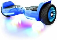 Swagtron T580 Kids LED Hoverboard Bluetooth W/ Speaker Self-Balancing E-scooter
