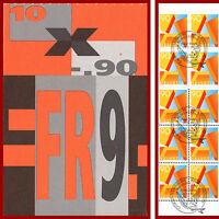 Schweiz 1995 A-POST, Markenheft Ersttag-Stempel, Mi 0-102y, SBK 0-97