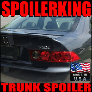 (Rear Trunk Lip Spoiler 284L Style Wing) Acura TSX 2004-2008 CL9