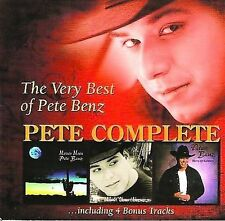 Pete Benz Pete Complete  New