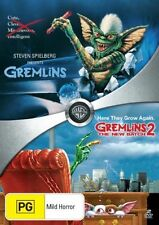 Gremlins 1 + 2 DVD CHRISTMAS MOVIES 2-DISCS R4