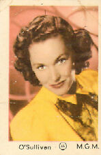 DUTCH MOVIE STAR GUM CARDS - No. 065 O'SULLIVAN