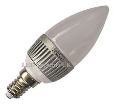 E14 SES 12 SMD LED 2.5W Warm White 180LM / White 215LM Dimmable Candle Bulb ~40W