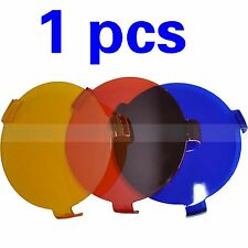 """1 PCS Lens Cover for 9"""" HID DRIVING SPOT OFFROAD LIGHTS Red Yellow Blue"""
