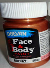 PAINTING - DERIVAN BRONZE METALLIC FACE PAINT 1 x 40ml