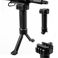 Folding Front Grip Vertical Foregrip Bipod 20mm Picatinny Rail mount for rifle