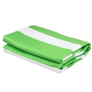 New Summer 180CM X 80CM Luxury Striped High Quality  Microfiber Bath Towel