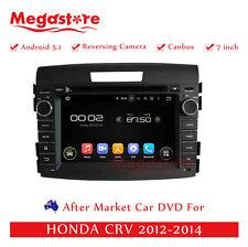 "7"" Car DVD GPS Navigation For HONDA CRV 2012-2014 Quad Core Android 7.1"