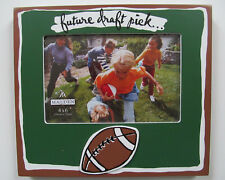New Malden Boys Sports Football Draft Pick Photo Frame Green For 4 X 6 Picture