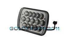 "7""x6"" LED Cree Light Bulb H4 Crystal Clear Sealed Beam Headlamp Headlight IP67"