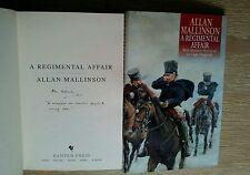ALLAN MALLINSON SIGNED LINED DATED A REGIMENTAL AFFAIR 1/1 UK HB/DJ NEW UNREAD