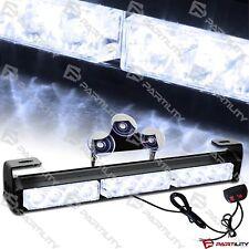 14 inch LED White Light Emergency Warning Strobe Flashing Bar Hazard Security