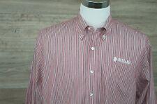 Indiana University .- Cutter & Buck Mens Long sleeve button down shirt - Size Lg