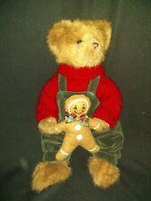 CHRISTMAS BEARINGTON BEAR GINGER BEAR COOKIE Christmas gift RARER hard to FIND
