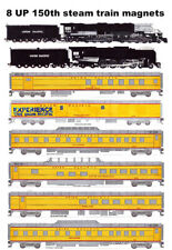 Union Pacific 150th Anniversary Train 8 magnets Andy Fletcher