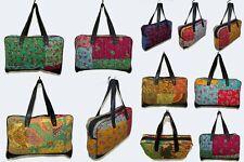 10Pc Wholesale Lot Women Shoulder Bag Kantha Handbag Vintage Hobo Bag Tote Bag