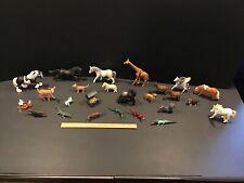 Schleich Safari Ltd PAPO Am Limes Lot of 25 Animals Horses Farm Jungle Reptiles