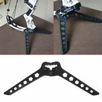 Compound Bow Stand Holder Archery Bow Recurve Bracket Kick Rack Support Folding