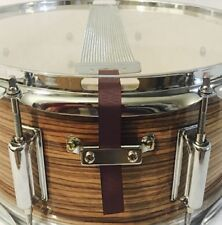 Snare Flair Drum Strap Percussion Rustic Brown USA Made SnareFlair Straps