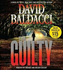 Will Robie: The Guilty by David Baldacci (2016, CD, Abridged)
