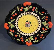 Mary Engelbreit Cherries Ceramic Picture Photo Frame 2001