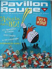 Magazine (très bel état) - Pavillon rouge 19 (couverture de Trondheim)