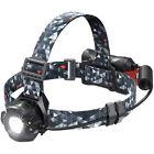 TaoTronics Cree LED Camping Headlamp Camouflage Headlight Flashlight - TT-HP006