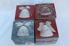 2004 Thru 2007 Lladro Christmas Bells, Never Removed From Boxes. Good Condition