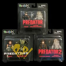 PREDATOR Minimates Series 4 Set of 6 Action FIGURES Diamond Select DST 3x2-Packs